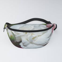 Beautiful white flower Fanny Pack
