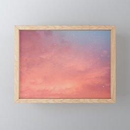 Dreamy Sky Framed Mini Art Print