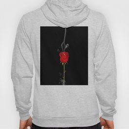 Red Rose - the flame is over Hoody