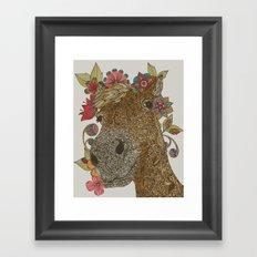 Delilah Framed Art Print
