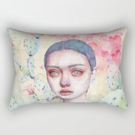 End of the Past Rectangular Pillow