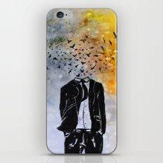 Man-Birds iPhone & iPod Skin