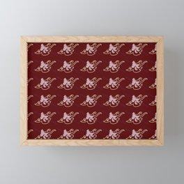 Flying bird print Framed Mini Art Print