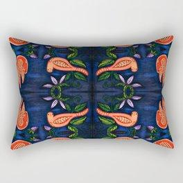 Palomas Noche Symmetrical Art3 Rectangular Pillow