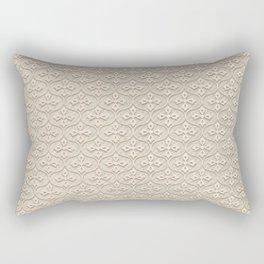 Blond Trellis Rectangular Pillow