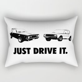 Just Drive IT. Rectangular Pillow