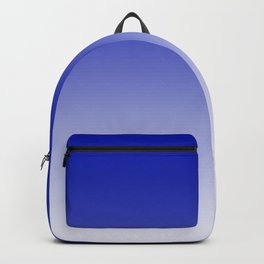 Ombre Zaffre Blue Duotone Backpack