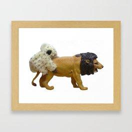 Kaolion Framed Art Print