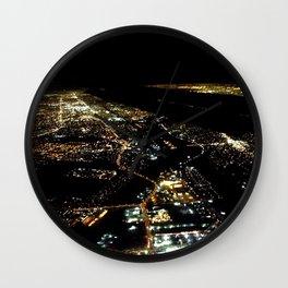 """Los Angeles Bird's Eye"" (2013) Wall Clock"