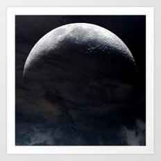 Moonlighted Art Print