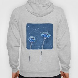 Winter's Flowers Hoody