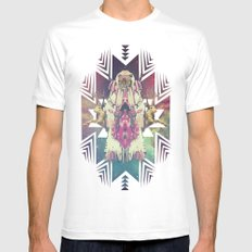 Tiger Chaman  Mens Fitted Tee White MEDIUM