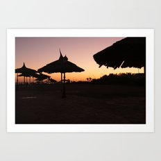 Egypt at dawn Art Print