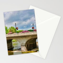 Queen St Bridge, St Marys, Ontario Stationery Cards