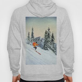 Skiing The Clear Leader Hoody