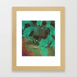 The Boy Who Drew Cats  Framed Art Print