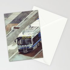bus number 26 Stationery Cards