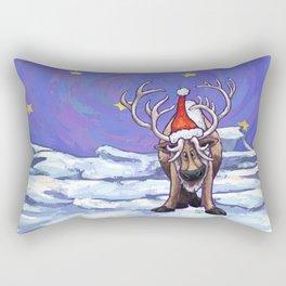 Reindeer Christmas Rectangular Pillow