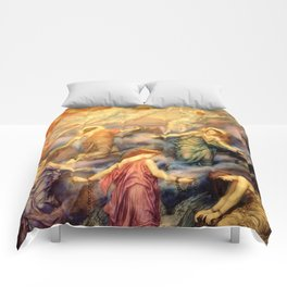 "Evelyn De Morgan ""Kingdom of Heaven"" Comforters"