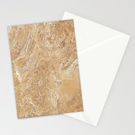 Mud Marble Texture Stationery Cards