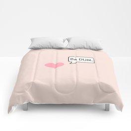 BA DUM Comforters