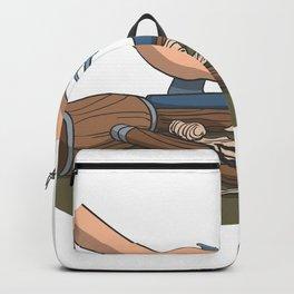 Craftsman wood planer hammer Backpack