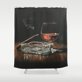 After Hours IV Shower Curtain