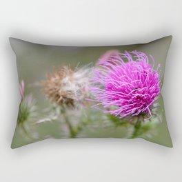 Thistle flower Rectangular Pillow