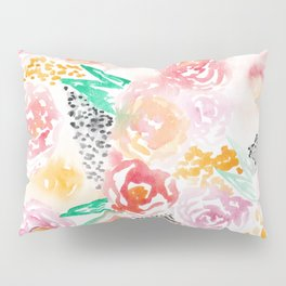Abstract Watercolor III Pillow Sham