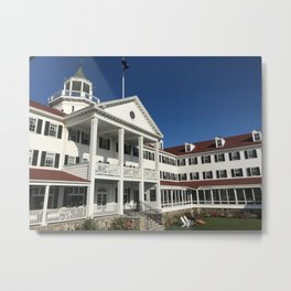 """""""The Colony Hotel, Kennebunkport"""" Photography Metal Print"""