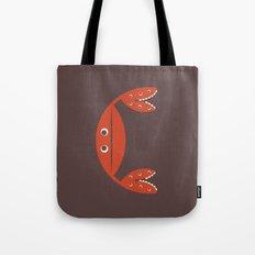 Letter C // Animal Alphabet // Crab Tote Bag