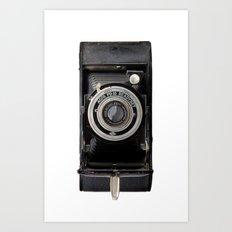 Vintage Agfa Camera Art Print