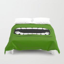mouth Duvet Cover