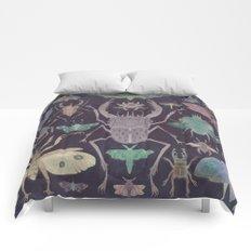 Entomologist's Wish (The Neon Version) Comforters