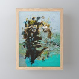The Human Race 5 Framed Mini Art Print