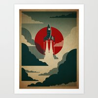colour Art Prints featuring The Voyage by Danny Haas