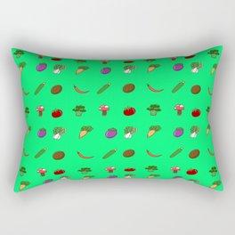 Beauty and food Rectangular Pillow