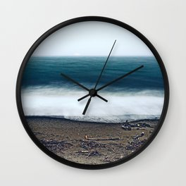 In the Ocean Deep Wall Clock