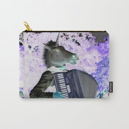 Unicorn Plays The Polka Carry-All Pouch