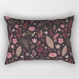 Floral seamless pattern Rectangular Pillow