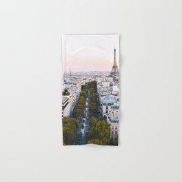 Paris City Hand & Bath Towel