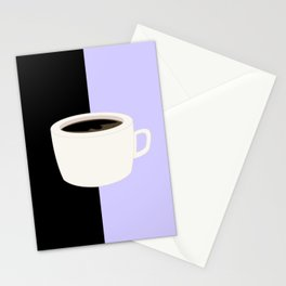 Lilac Coffee Stationery Cards