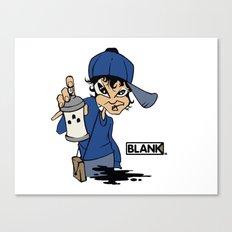 BLANKM GEAR - GIRLSPRAY T SHIRT Canvas Print