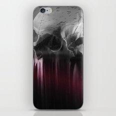 Creepy skull iPhone & iPod Skin
