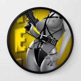 Sin City-Gail Wall Clock