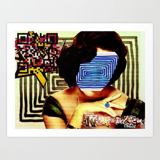 LizEdge · wanna go somewhere Art Print