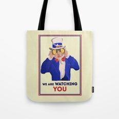 NSA Prism Tote Bag