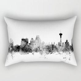 San Antonio Texas Skyline Rectangular Pillow