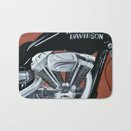 Harley Rider Bath Mat