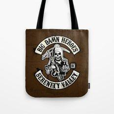 Big Damn Heroes Tote Bag